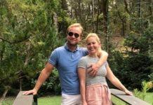 кэндис кэмерон буре с мужем